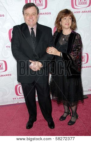 Jerry Mathers and guest at the 5th Annual TV Land Awards. Barker Hangar, Santa Monica, CA. 04-14-07