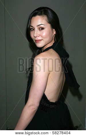China Chow at the Oscar De La Renta Boutique Opening Benefiting EIF Women's Cancer Research Fund. Saks Fifth Avenue, Beverly Hills, CA. 04-18-07