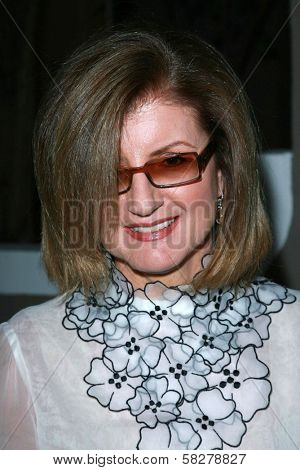 Arianna Huffington at the Oscar De La Renta Boutique Opening Benefiting EIF Women's Cancer Research Fund. Saks Fifth Avenue, Beverly Hills, CA. 04-18-07