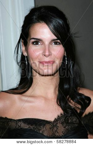 Angie Harmon at the Oscar De La Renta Boutique Opening Benefiting EIF Women's Cancer Research Fund. Saks Fifth Avenue, Beverly Hills, CA. 04-18-07