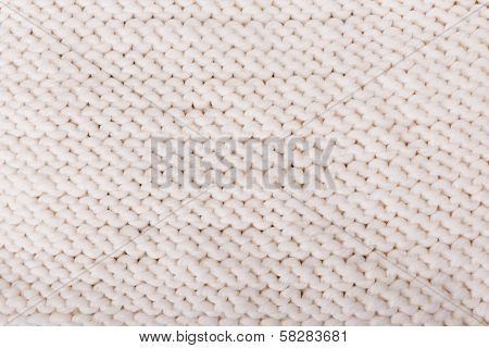 White Knitted Texture