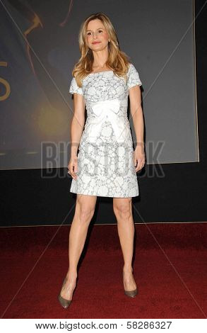 Kyra Sedgwick at the 59th Primetime Emmy Awards Nominations Announcements. Leonard Goldstein Theater, Los Angeles, CA. 07-19-07