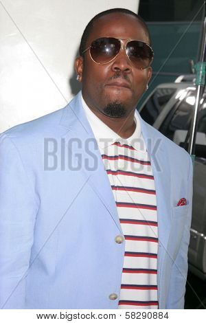 Big Boi at the Los Angeles premiere of
