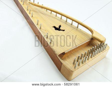 Old Psaltery Harp