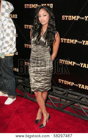 Tanee Short at the world premiere of