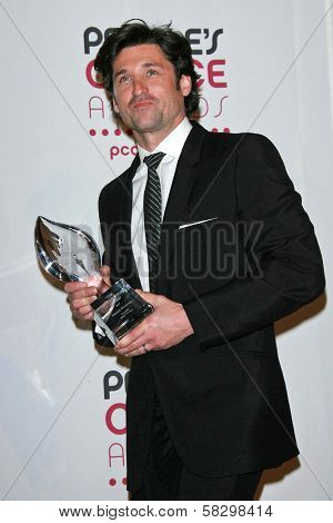 Patrick Dempsey in the press room at The 33rd Annual People's Choice Awards. Shrine Auditorium, Los Angeles, CA. 01-09-07