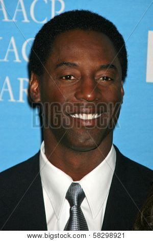 Isaiah Washington at the Press Conference for the 38th NAACP Image Awards. The Peninsula Hotel, Santa Monica, CA. 01-09-07