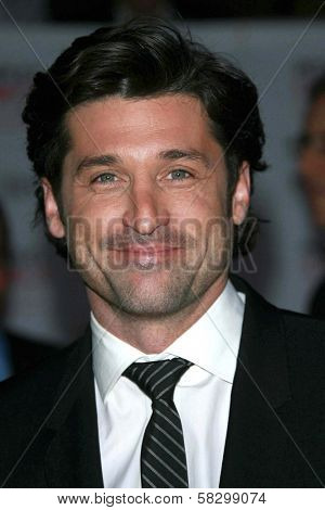 Patrick Dempsey arriving at The 33rd Annual People's Choice Awards. Shrine Auditorium, Los Angeles, CA. 01-09-07