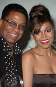 Herbie Hancock and Janet Jackson at Ebony's Pre-Oscar Celebration