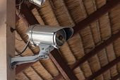 stock photo of cctv  - Close - JPG
