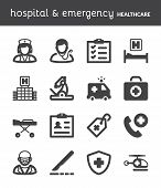 picture of scalpel  - Set of black flat icons about healthcare - JPG