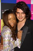 Golden Brooks and Markus Molinari at the launch of T-Mobile Sidekick ID, T-Mobile Sidekick Lot, Holl