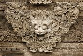 Stone Mythical Creature - Decoration Of Bali Temple