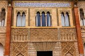 foto of rebuilt  - Mosaics and Windows Peter of Castle - JPG