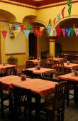 Cozy Mexican Restaurant. Oaxaca, Mexico poster