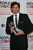 Patrick Dempsey in the press room at The 33rd Annual People's Choice Awards. Shrine Auditorium, Los