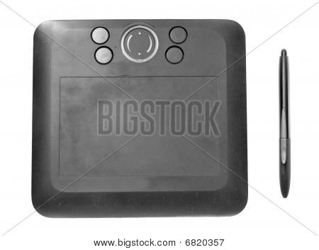 Wireless Black Drawing Tablet