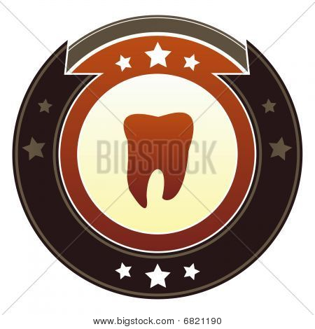 Tooth or dentist icon