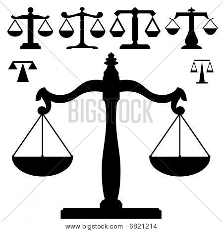 Justice or measuring scales