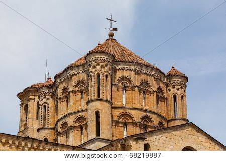 Great Romanesque Dome In Toro Collegiate Church In Zamora