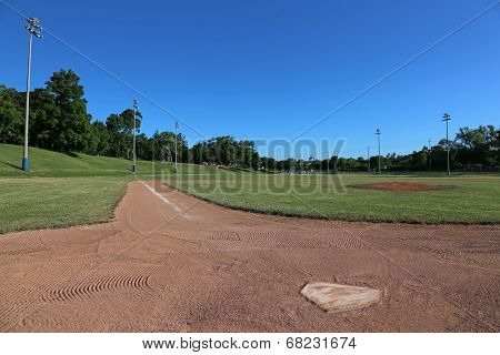 Left Line Ball Field