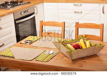 Kitchen Table Setting