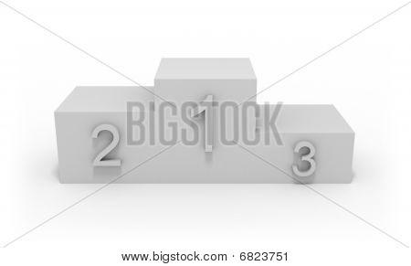 Winner Pedestal