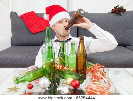 Drinking Too Much During Christmas Time