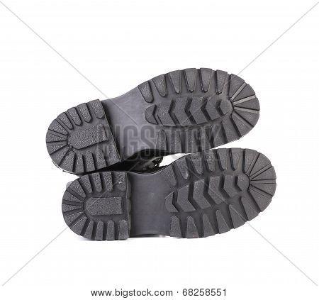 Sole of men's shoes.