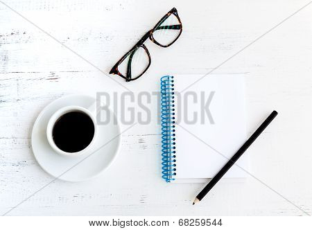 Coffee With Glasses,