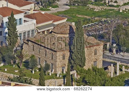 Fethiye medieval mosque, Athens Greece
