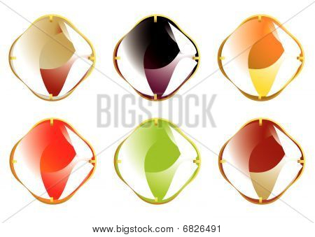 faceted gemstone image