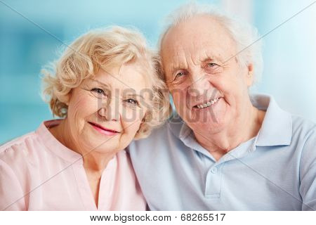Portrait of a candid senior couple enjoying their retirement