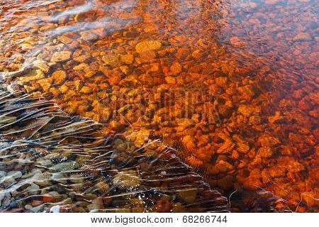 Bottom of river