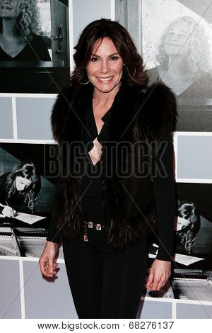 NEW YORK-JAN 12: Countess LuAnn de Lesseps attends 'Beautiful - The Carole King Musical' Broadway Opening Night at Stephen Sondheim Theatre on January 12, 2014 in New York City.