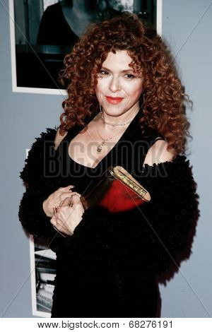 NEW YORK-JAN 12: Bernadette Peters attends 'Beautiful - The Carole King Musical' Broadway Opening Night at Stephen Sondheim Theatre on January 12, 2014 in New York City.