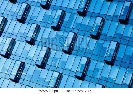 Crop Of Blue Wall New Transparent Business Center