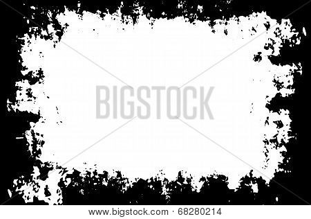 Grunge Painted Vector Border For Your Designs