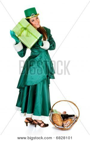 St Patrick Holiday Woman