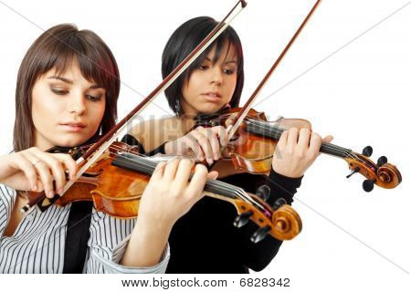 Beautiful Violinists