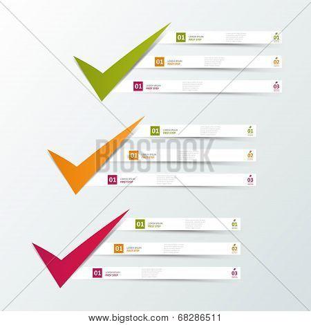 Modern infographics template.