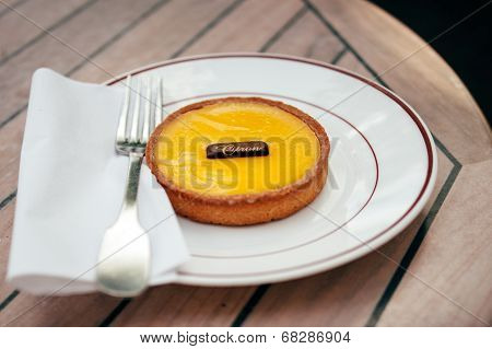 French Citron Pie - Tarte Au Citron