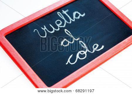 Back To School, Vuelta Al Cole