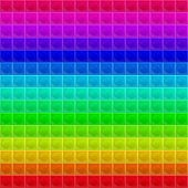 image of tetrahedron  - seamless texture composed of tetrahedral mosaic of different colors with highlights - JPG