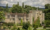 picture of hever  - View of Hever Castle in Kent England - JPG