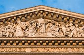 stock photo of neo-classic  - Architectural detail of Pantheon - JPG