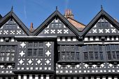pic of manor  - Traditional Tudor period timber framed black and white manor house in Stockport - JPG