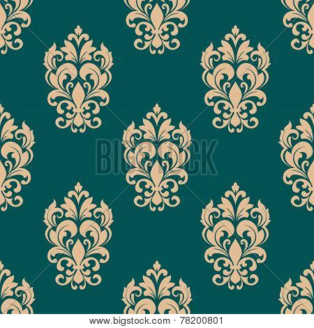 Foliage victorian seamless design