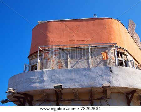 Deteriorated Old House