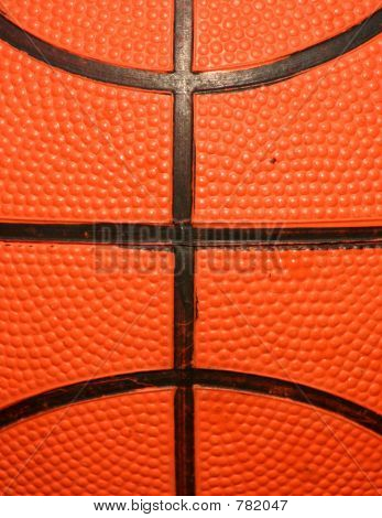 Macro of Basketball